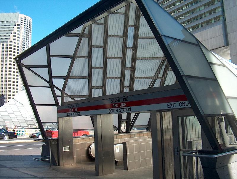 MBTA South Station Entrances