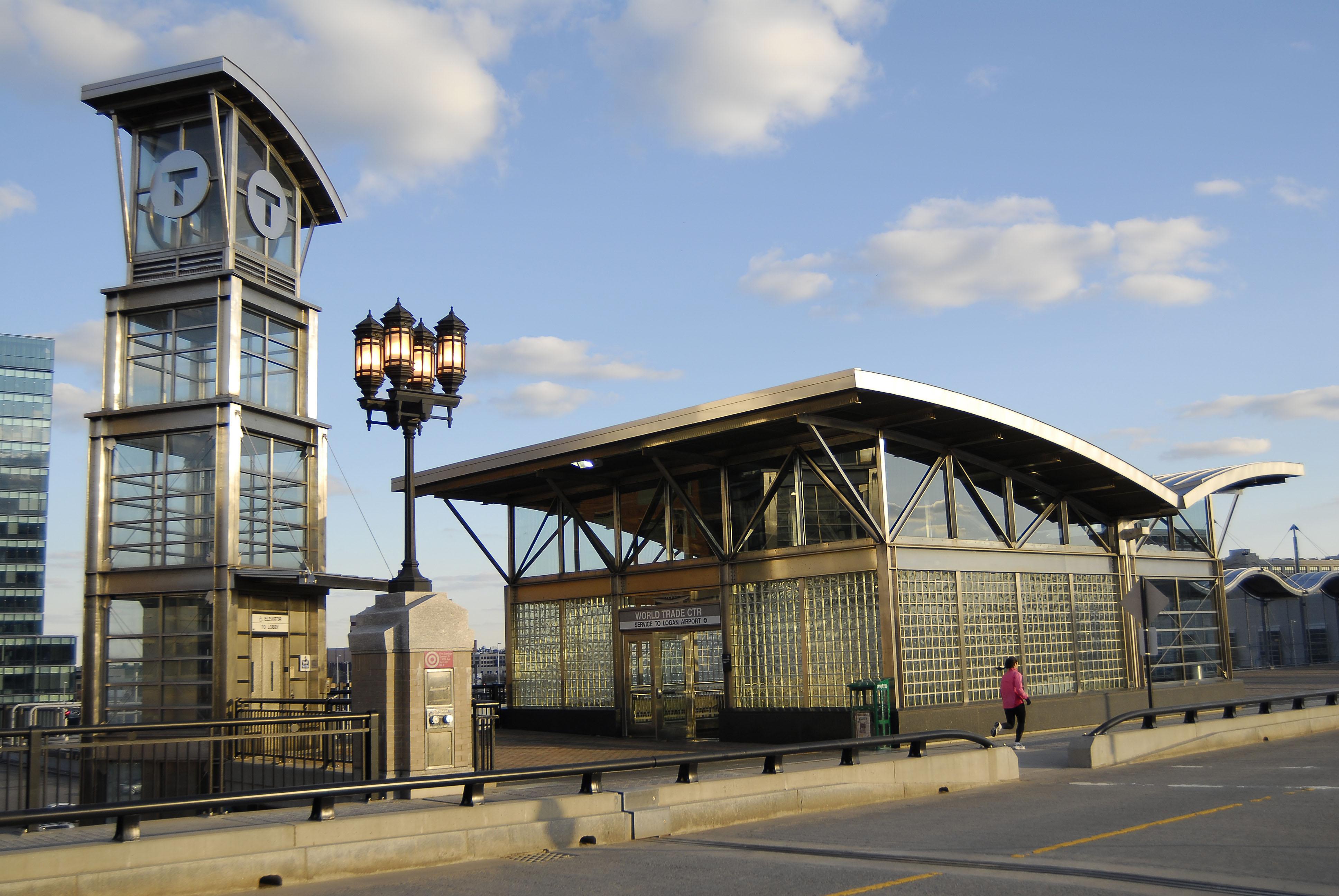 MBTA World Trade Center Station