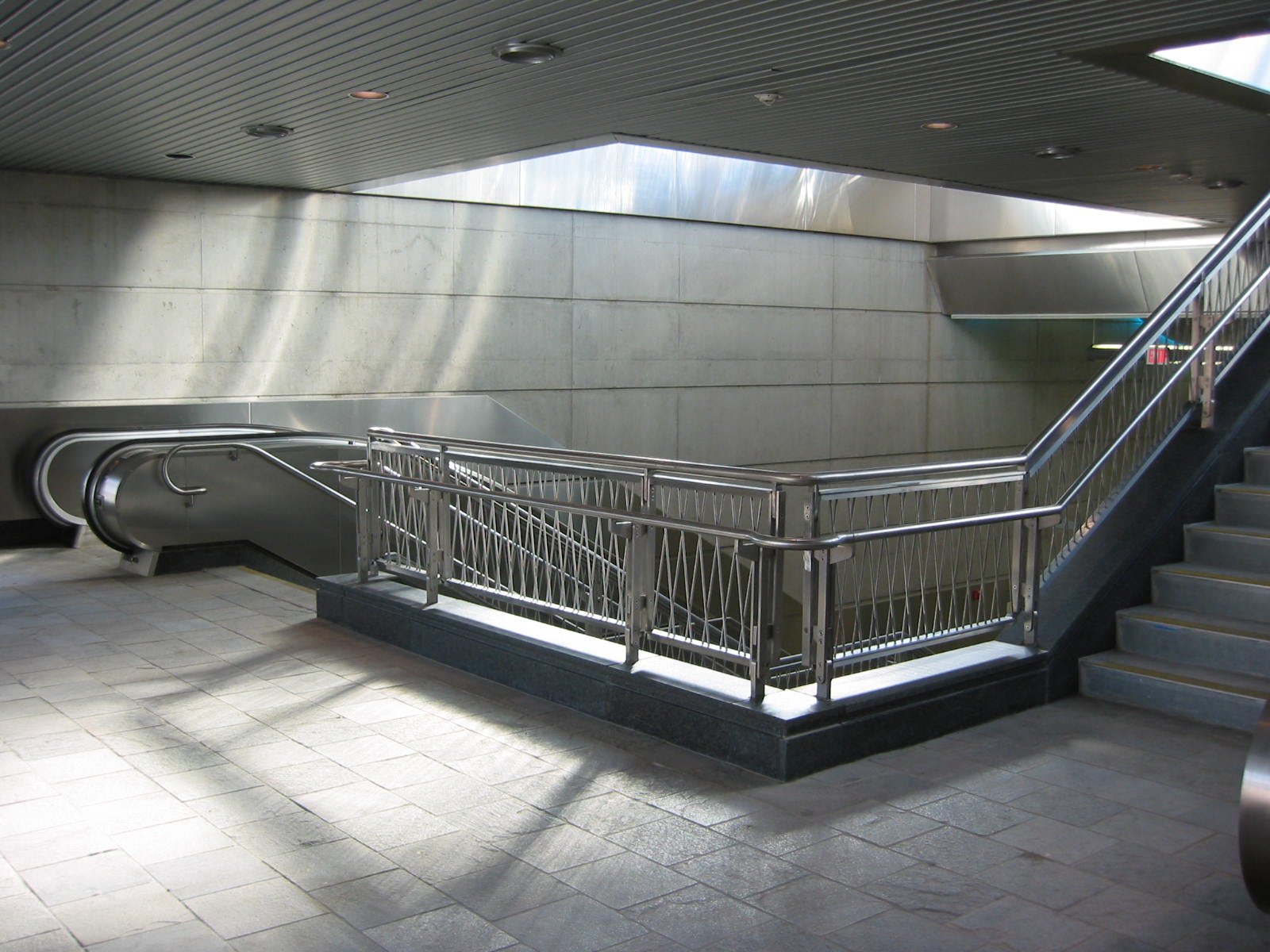 MBTA World Trade Center Station