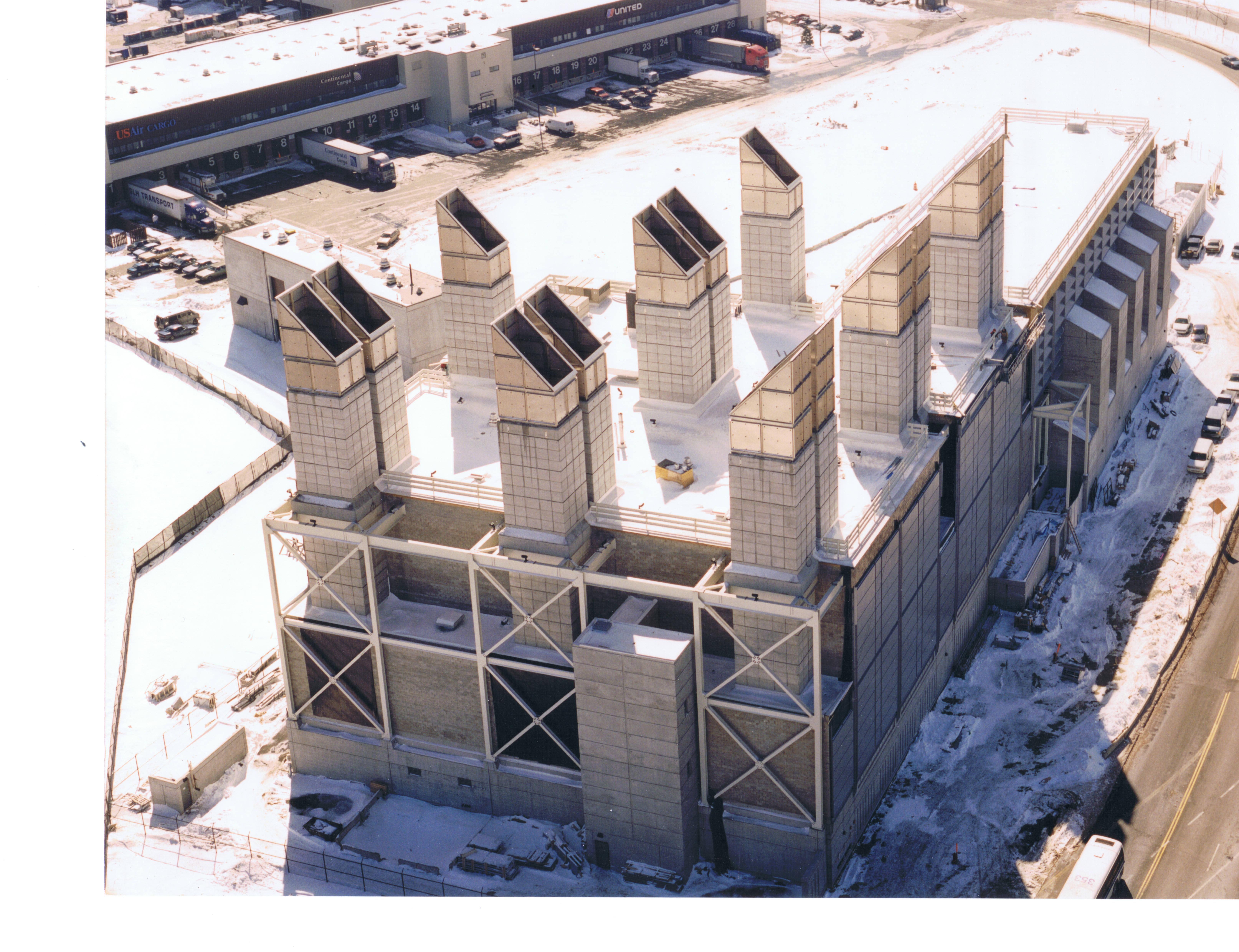 CA/T  Ventilation Building No. 7